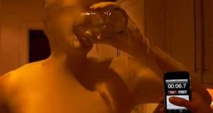 trinken durch morphsuit