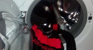 Morphsuit im Waschmaschine