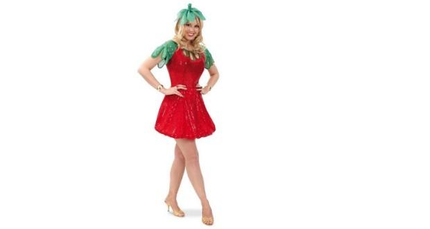 verkleidung als erdbeere