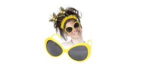 Verkleidung als Biene