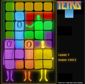 tetris alle farben