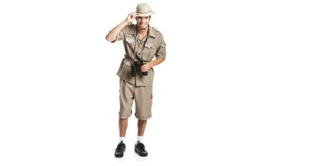 Tropenforscher Kostüm
