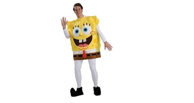 gelbes Spongebob Kostüm
