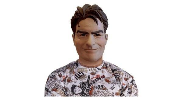 Charlie Sheen Maske