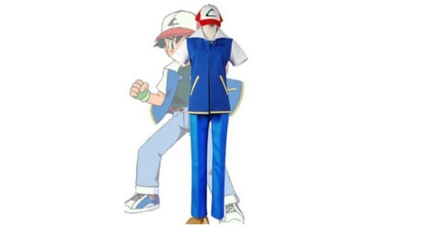 pokemon ash kostüm
