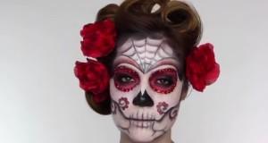day of the dead sugar skull make up