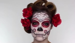 day of the dead sugar skull make up