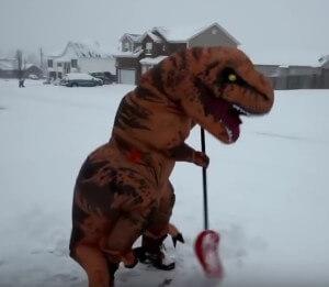 tyronnosaurus rex kostümtrex kostüm aufblasbar